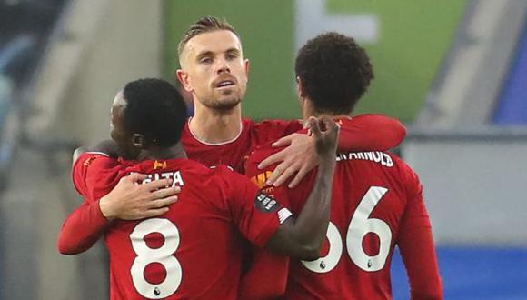 El plantel de Liverpool rechaza la Superliga europea. (Foto: AFP)