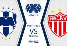 TUDN y FOX Sports, Monterrey vs. Necaxa EN VIVO por la fecha 15 online de la Liga MX