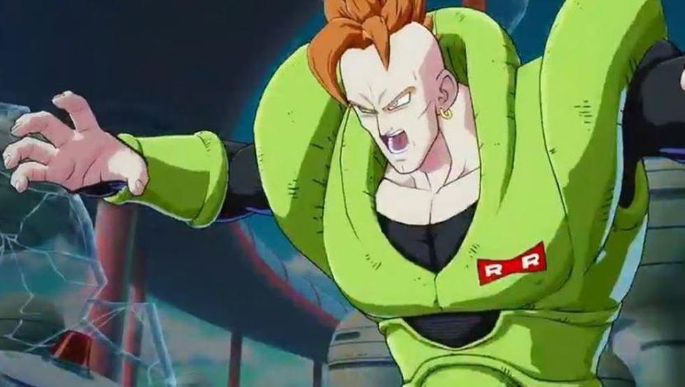 Androide 16 en Dragon Ball (Toei Animation)