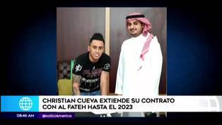 Christian Cueva continuará en Al Fateh hasta el 2023