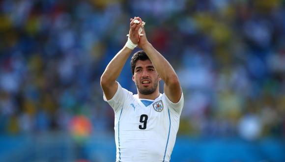 Luis Suárez es el máximo anotador de la selección de Uruguay con 63 tantos. (Foto: Clive Rose / Getty Images for Sony)