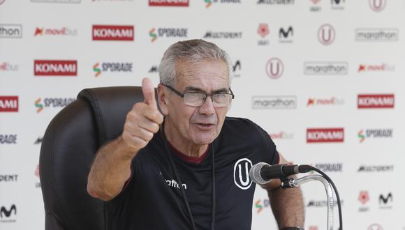 Pérez lleva cinco partidos dirigidos en su regreso a Universitario: cuatro victorias y una derrota. (Foto: GEC)