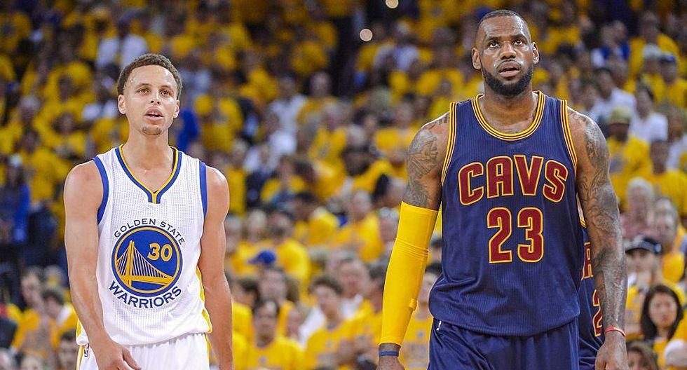 3. Stephen Curry será el primer jugador de la historia de los Golden State Warriors que será titular en cinco All Star Game seguidos. (AP/AFP/Getty)