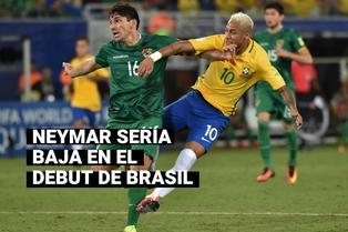 Eliminatorias Qatar 2022: Neymar es duda para el debut de Brasil