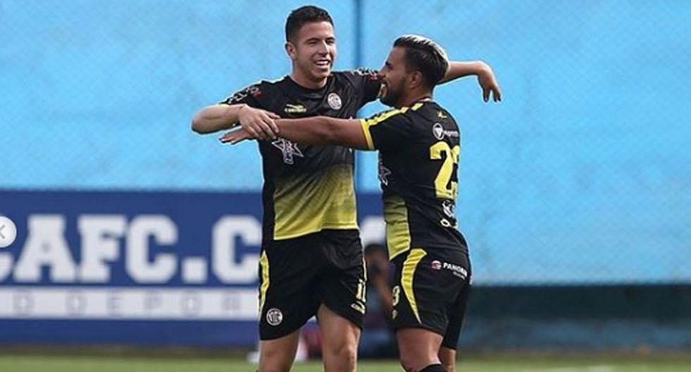 Juan Pablo Vergara y Adrián Ugarriza jugaron juntos en UTC de Cajamarca. (Instagram)