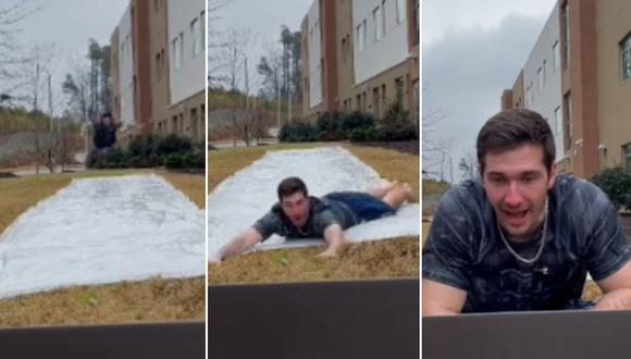 Un profesor de educación física encontró una divertida forma para empezar una clase virtual. (Foto: @mr.pyper / TikTok)