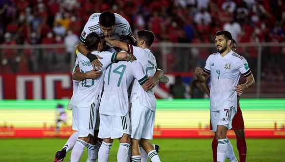 México vs. Panamá se vieron las caras este miércoles por las Eliminatorias a Qatar 2022 (Foto: Getty Images).