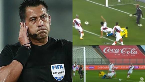 Diego Rebagliati criticó cómo se usó el VAR en el Perú vs. Brasil. (Captura)
