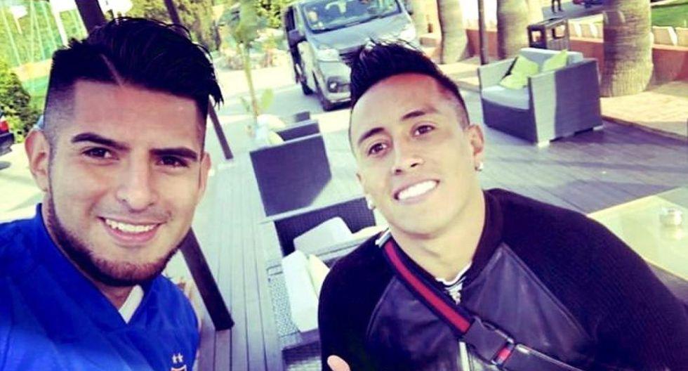 Carlos Zambrano y Christain Cueva buscan continuidad para mantenerse en la Selección Peruana. (Instagram)