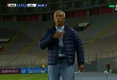 Sacó pecho: Wilmar Valencia y su intercambio de palabras con el DT de Liverpool por Copa Sudamericana [VIDEO]