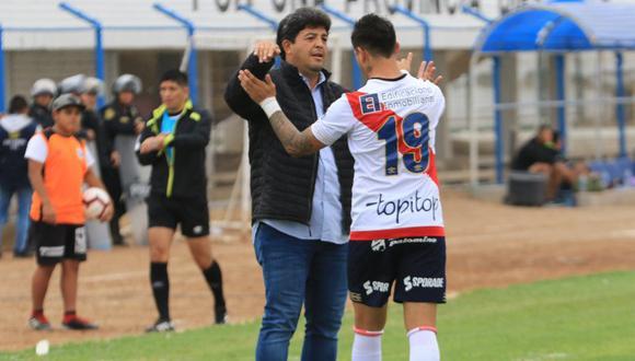 Víctor Rivera tiene contrato hasta fin de año con Deportivo Municipal. (Prensa Deportivo Municipal)