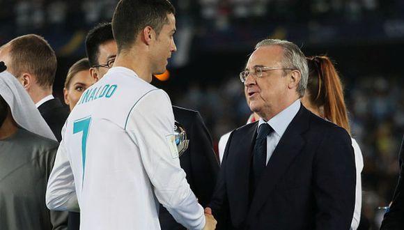 Cristiano Ronaldo llegó al Real Madrid en 2009. (Getty Images)
