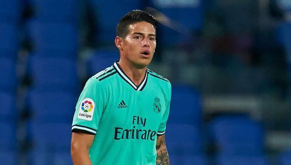 James Rodríguez no sería considerado hasta el final de temporada en Real Madrid. (Foto: AFP)