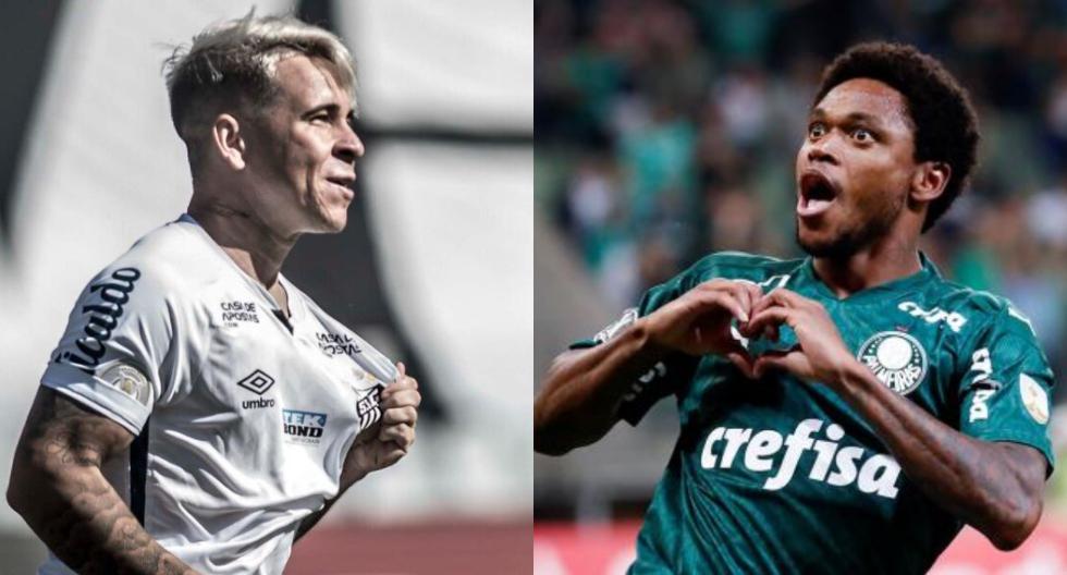 Santos vs. Palmeiras definirán al campeón de Copa Libertadores. (Foto: Agencias)