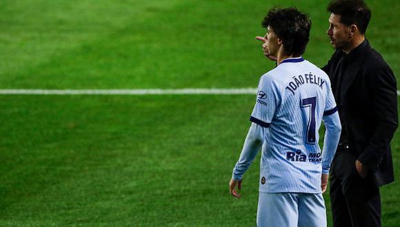 Joao Félix llegó a Atlético de Madrid en 2019 desde el Benfica. (Getty)