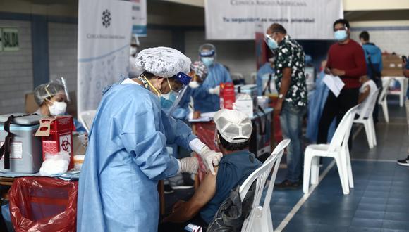 Vacunación contra el COVID-19 se realiza en todo el país (Foto: GEC)