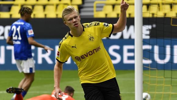 Borussia Dortmund goleó al Schalke 04 en el reinicio de la Bundesliga 2020. (Foto: Getty)