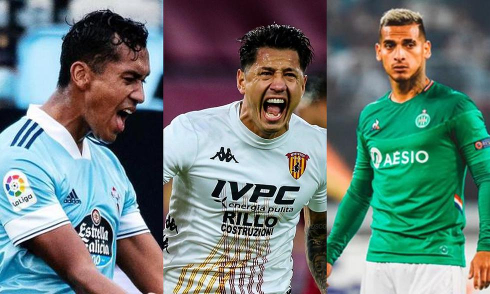 Los clubes de los jugadores peruanos a poco del fin de la temporada en el Viejo Continente. (Fotos: Agencias)