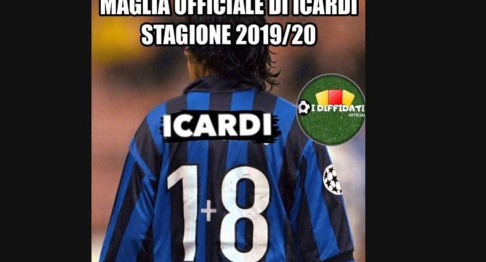 Mauro Icardi no tiene espacio en el Inter de Milán de Antonio Conte. (Foto: Difusión)