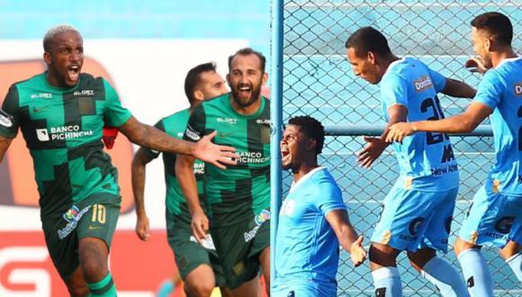 La temporada pasada Alianza Lima y Binacional no pudieron enfrentarse. (Fotos: Agencias)