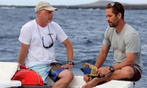 Paul Walker y el biologo Michael Domeier tuvieron una gran amistad, ya que el amor por el mar los unía (Foto: National Geographic)