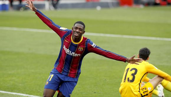 Ousmane Dembélé llegó al Barcelona en 2017 desde el Dortmund. (Foto: EFE)
