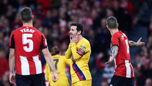 El Barcelona de Lionel Messi se quedó con las ganas en la Copa del Rey 2020. (Foto: Getty Images)