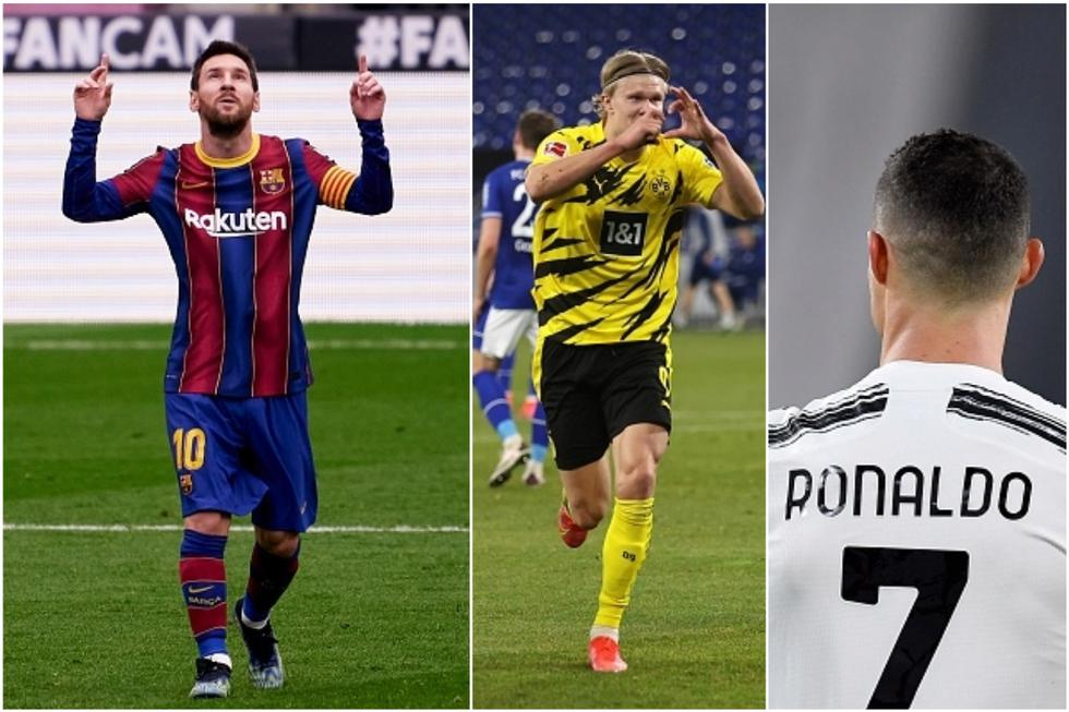 Los mejores goleadores del 2021 en las cinco grandes ligas de Europa: cuentan todas las competiciones. (Getty)