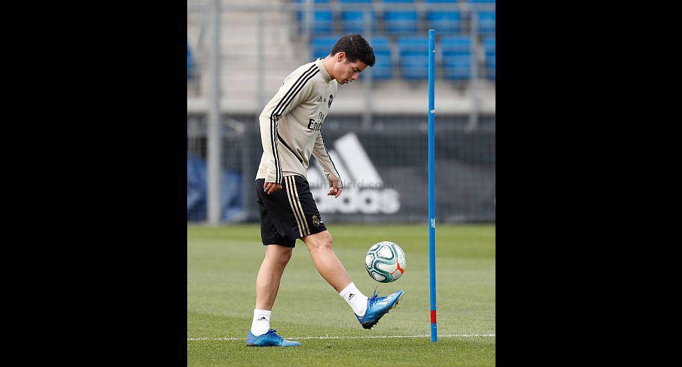 Así fue la jornada de entrenamientos individuales de Real Madrid. (Foto: Real Madrid)