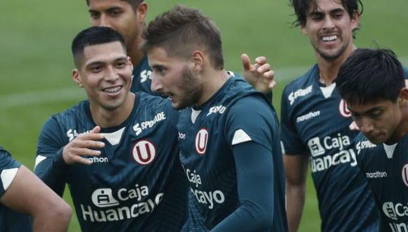 Tiago Cantoro colaboró con un gol en la victoria (2-0) de Universitario sobre San Martín. (Foto: Violeta Ayasta / GEC)