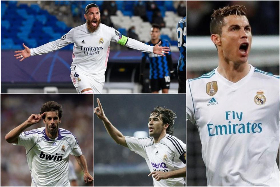 Sergio Ramos llegó a los 100: los goleadores históricos del Real Madrid desde el inicio del nuevo milenio. (Agencias)