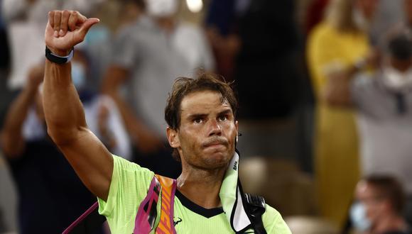 Rafael Nadal salió del top 5 de la ATP por primera vez en cuatro años. (EFE)