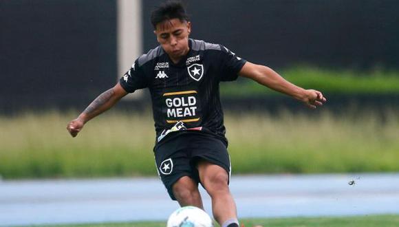 Alexander Lecaros ha participado en 8 partidos del Brasileirao 2020. (Foto: Botafogo)