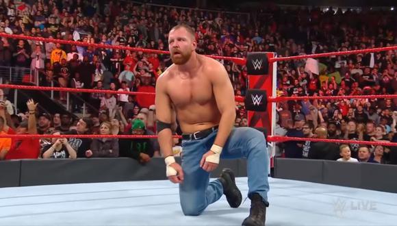 Dean Ambrose no se reunió con Roman Reigns y Seth Rollins. (WWE)