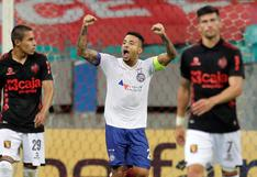 ¡Cayó el 'rojinegro'! Bahia goleó 4-0 a Melgar y lo eliminó de la Copa Sudamericana