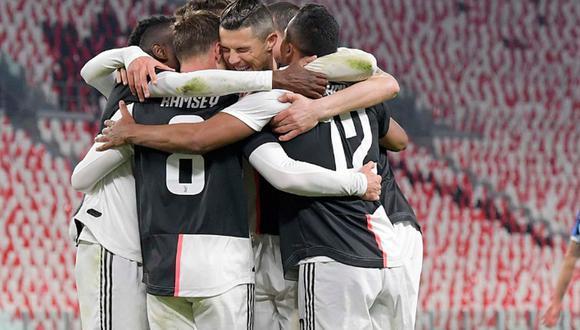 Juventus venció 2-0 a Inter de Milán por la jornada 26 de la Serie A de Italia 2020. (Foto: Twitter)