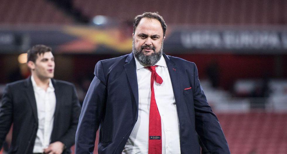 Evangelos Marinakis es dueño del Nottingham Forest y también del Olimpiacos griego. (Foto: Getty)