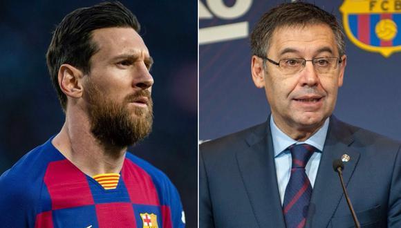 Lione Messi  y Josep Maria Bartomeu no mantienen ningún tipo de comunicación directa.