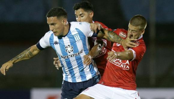 Racing y Rentistas empataron 1-1 por la fecha 1 de los grupos de la Copa Libertadores 2021. (AFP)