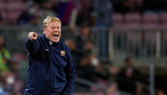 Ronald Koeman tiene contrato con el Barcelona hasta final de temporada. (Foto: Getty)