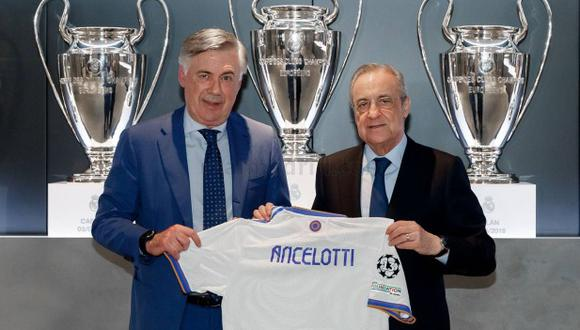 Carlo Ancelotti llegó al Real Madrid en reemplazo del francés Zinedine Zidane. (Foto: Real Madrid)