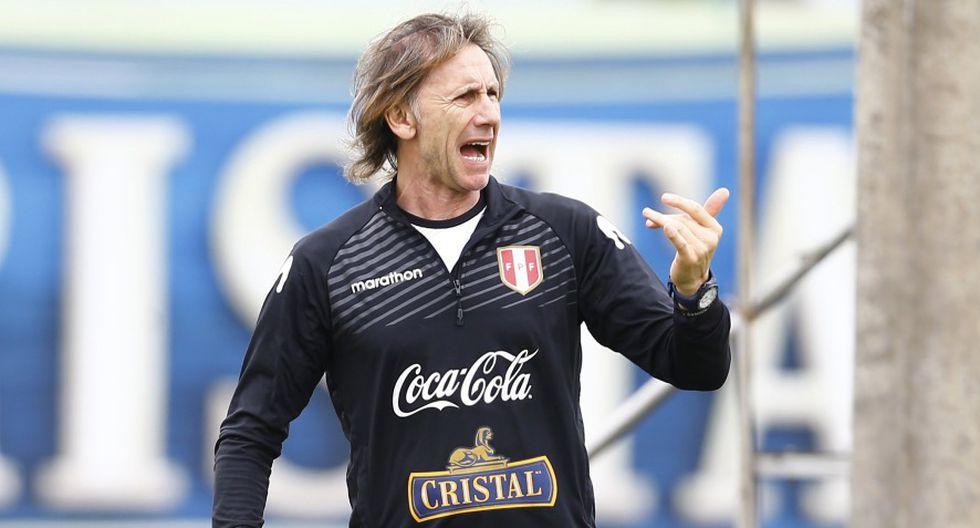 Ricardo Gareca dijo que el objetivo de la Selección Peruana es volver al Mundial. (GEC)