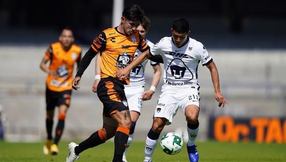 Pumas y Pachuca empataron por Liguilla MX del Apertura 2020