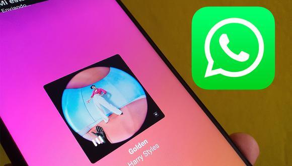¿Quieres poner música a tus estados de WhatsApp? Usa este sensacional truco ahora mismo. (Foto: Depor)