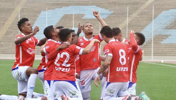 Unión Comercio venció por 2-1 a Los Chankas y accedió a la segunda etapa del playoff de la Liga 2. (Foto: Liga de Fútbol Profesional)