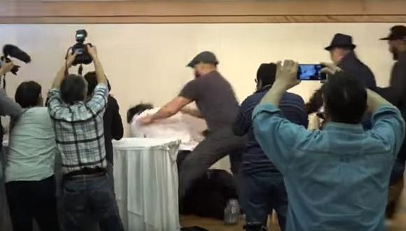 Chris Jericho y Kenny Omega se enfrentarán el 4 de enero en Tokio. (YouTube)