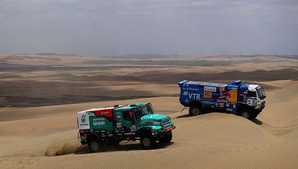 Nasser Al-Attiyah ganó el último Rally Dakar. (Getty Images)