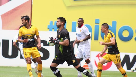 Cantolao y Atlético Grau se vieron las caras en la Liga 1. (Foto: Liga 1)