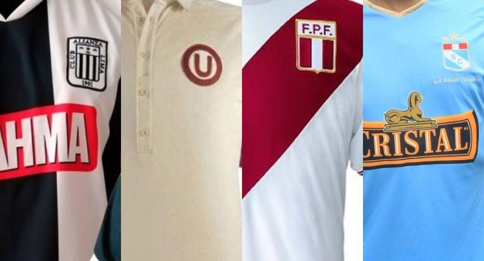 Las camisetas más recordadas del fútbol peruano. (Foto: Internet)