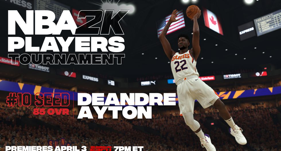 Deandre Ayton. (Foto: Twitter @NBA2K)